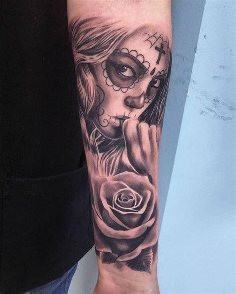 dia delos muertos tattoos for men dia de los muertos by tuomaskoivurinne on