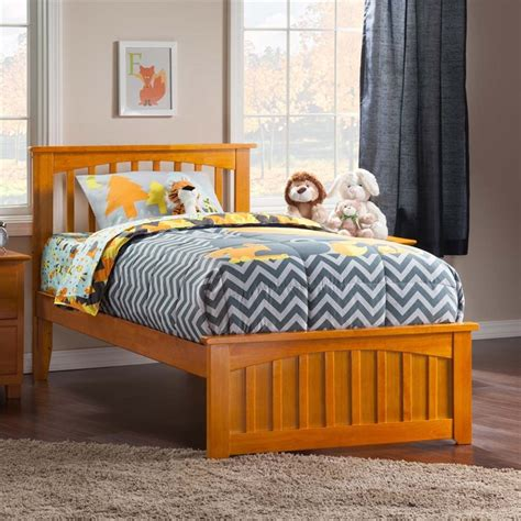 twin xl beds furniture atlantic furniture mission twin xl spindle platform bed in