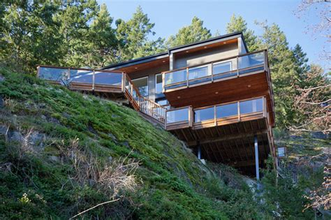 which side does the st go on front elevation contemporary exterior vancouver by