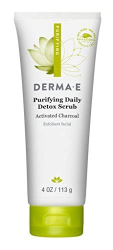 Derma E Purifying Daily Detox Scrub by Derma E Purifying Daily Detox Scrub With Marine Algae And