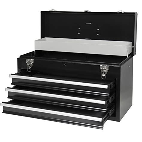 3 drawer tool box organization best choice products 3 drawer tool chest box storage
