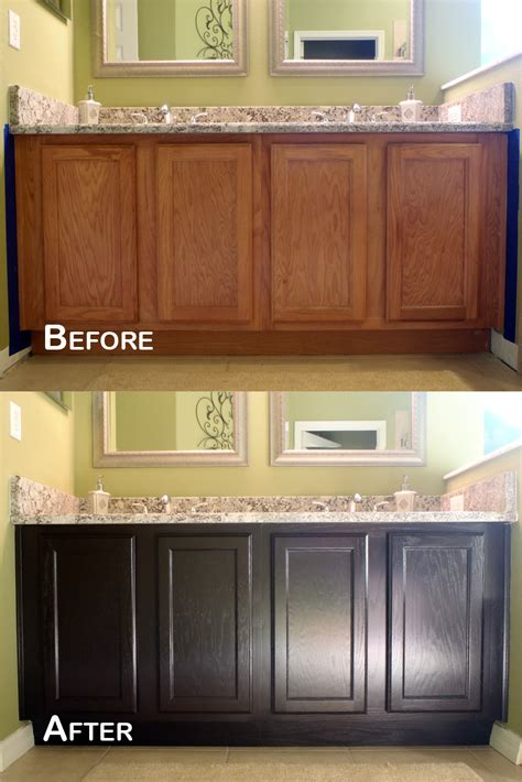 how to stain oak cabinets java gel stain for any wood cabinets in my house our