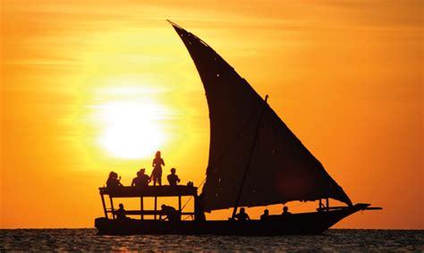 cruises zanzibar sunset dhow cruise bluebay zanzibar