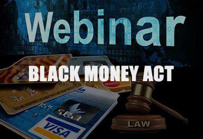 webinar  black money law  fema implications  poker winnings  offshore wallets paid