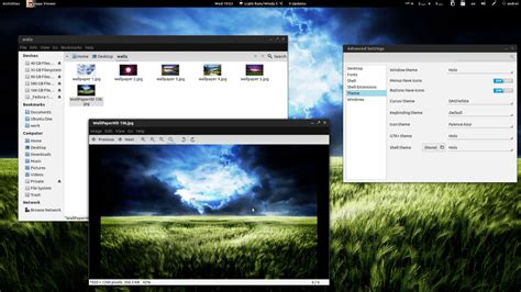 gnome themes webupd8 holo android ice cream sandwich like theme pack for gnome