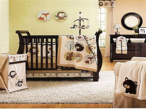 forest animal crib bedding forest animal crib bedding baby rooms pinterest