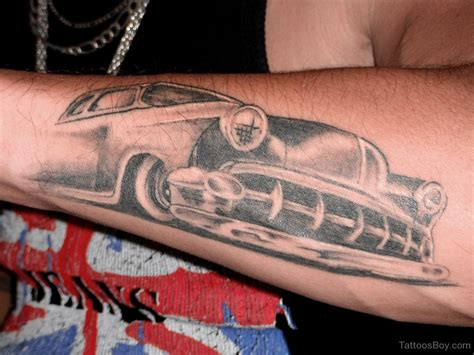 vehicle tattoo designs car tattoos designs pictures