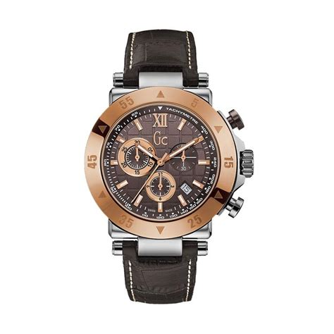 Jam Tangan Pria Cowok Guess Set Leather Grey Limited jual guess collection leather jam tangan pria gc x90020g4s coklat rosegold harga