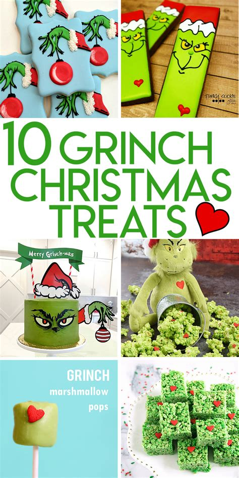 grinch themed 10 grinch themed treats to make for random
