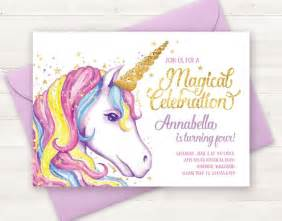 unicorn birthday invitation templates 25 unique unicorn birthday invitations ideas on