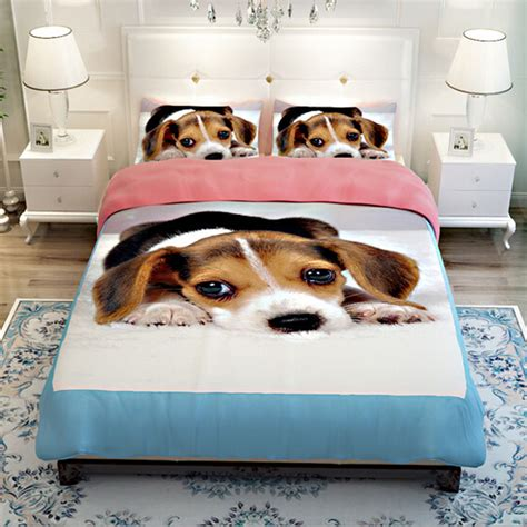 Modal Duvet Dog Print Bedding Promotion Shop For Promotional Dog Print