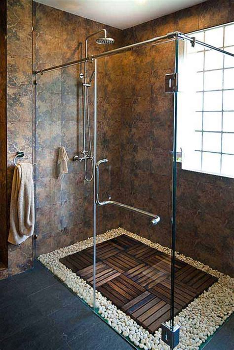 river rock bathroom ideas 35 amazing ideas adding river rocks to your home design architecture design