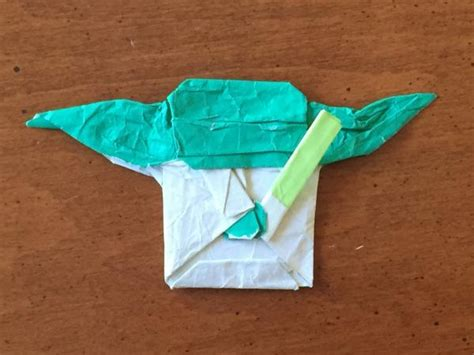 Origami Yoda From The Cover - my cover yoda origami yoda