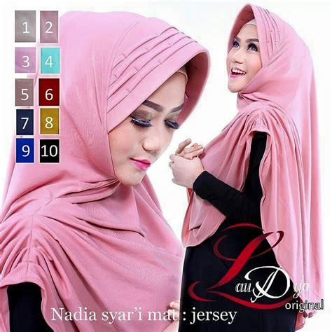 Jilbab Bergo Talita Ori By Laudya by laudya pusat grosir jilbab modern
