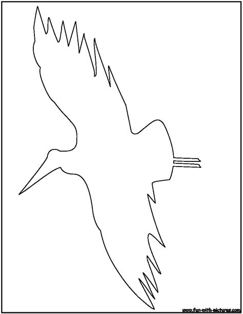 Flying Bird Outline Coloring Pages Outline Coloring Pages