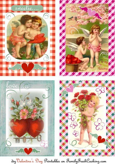 printable valentine postcards vintage valentines cards free printables marla meridith