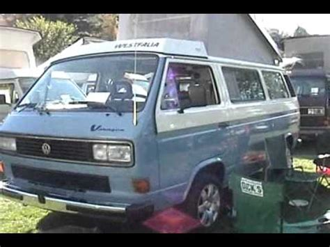 subaru vanagon volkswagen vanagon westfalia with subaru engine at