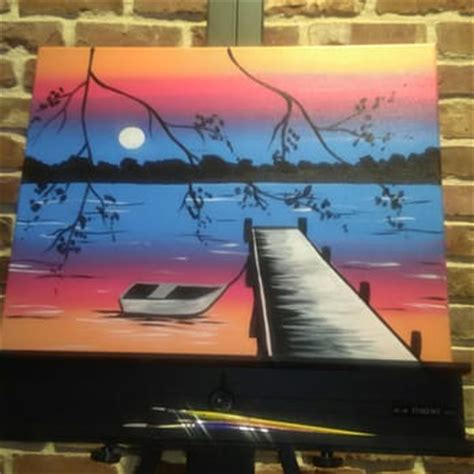 Muse Paintbar Classes Willow Lawn Richmond Va