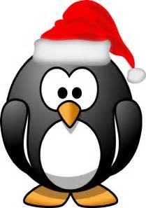 christmas penguin clip art at clker com vector clip art