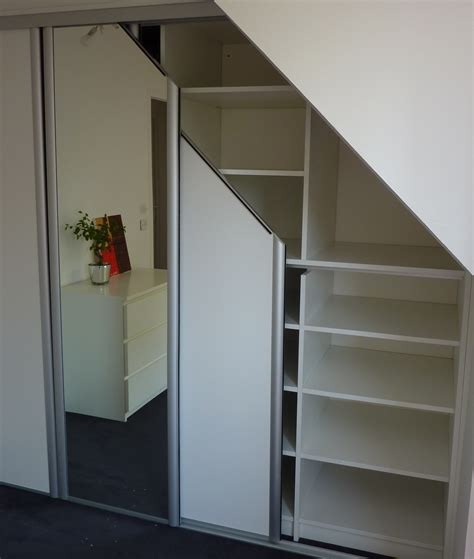 placard chambre mansard馥 cheap penderie avec miroir placard sous mansarde portes