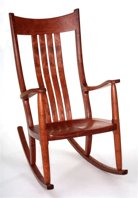 Rocking Armchair The Weeks Mesquite Rocking Chair Large Format