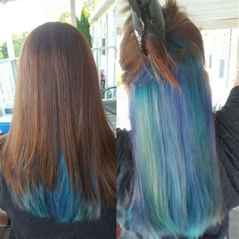 peek a boo hair color 17 best ideas about peekaboo hair colors on