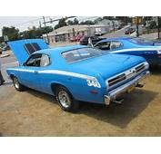 1972 Plymouth Duster 340  Outside The Retro Dealership Disp
