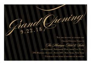 invitation card for business opening grand opening stripes corporate invitations by