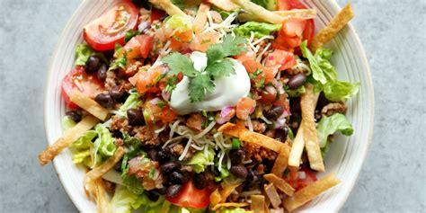 beef taco salad easy beef taco salad recipe how to make taco salad