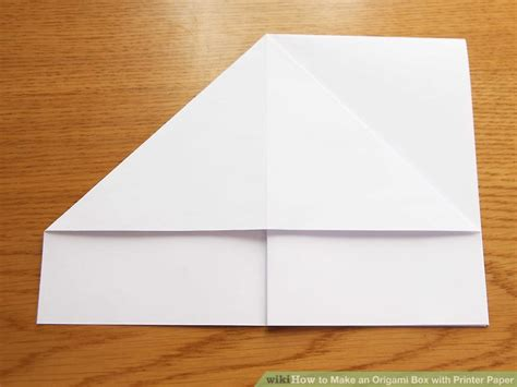 origami with printer paper how to make an origami box with printer paper 12 steps