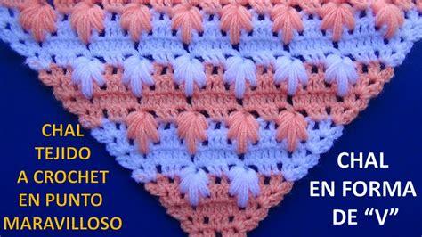 imagenes de cuellos a crochet imagui chal en punta 4 tejido a crochet en punto maravilloso