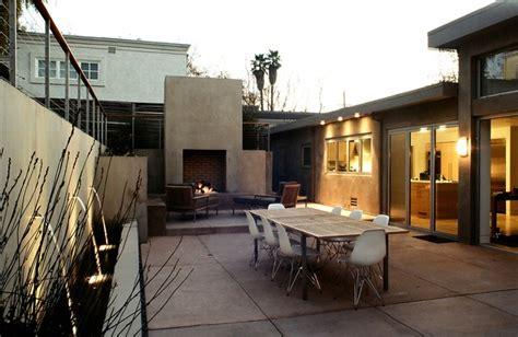 mid century modern piedmont residence modern patio