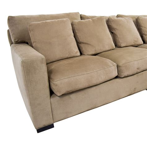 right arm chaise lounge furniture 66 crate barrel crate barrel axis right arm