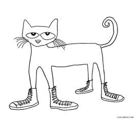pete the cat coloring page free printable cat coloring pages for cool2bkids