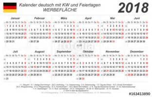 Kalender 2018 Zum Ausdrucken Und Bearbeiten Quot Kalender 2018 Grau Quer Mit Feiertagen
