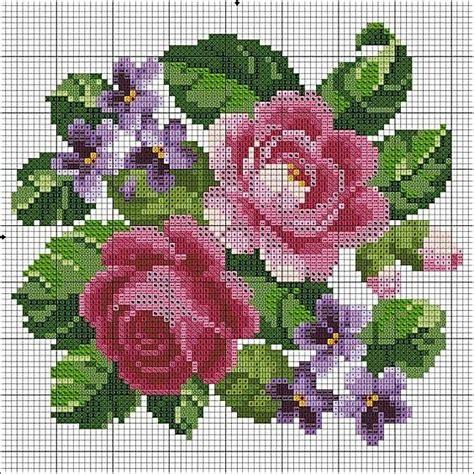 schemi punto croce fiori gratis schemi gratis punto croce di maggio per le vostre
