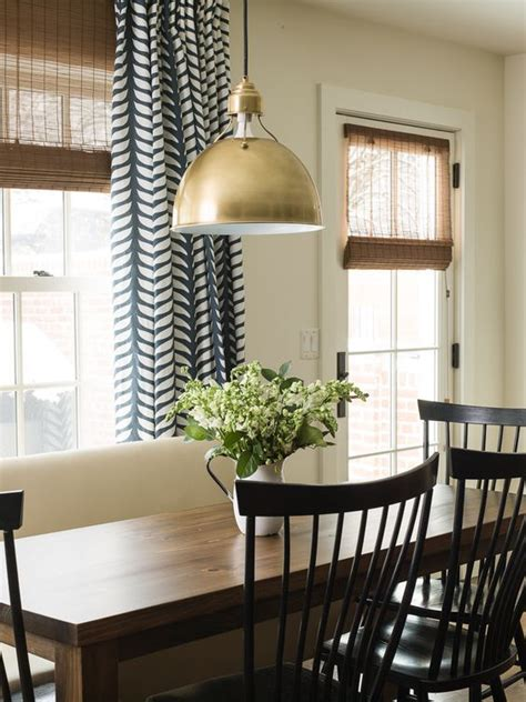 Dining Room With Navy Curtains The World S Catalog Of Ideas
