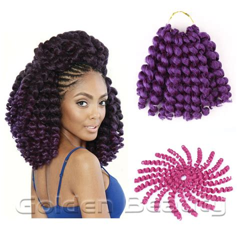 jamaican weave hair 8 10inch jumpy wand curl crochet braids crochet hair