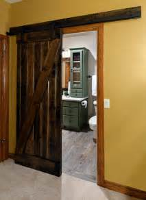rustic barn door farmhouse bathroom other metro by rock solid renovations