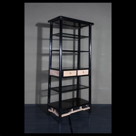 open back shelves bookcases open back tapered bookcase acf china