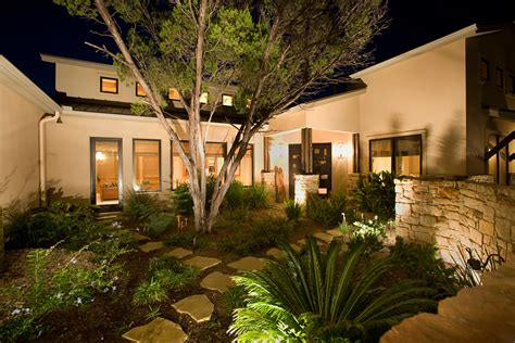 Small Garden Lighting Ideas Strategic Placement Of Landscape Lighting Sensible Solar Power