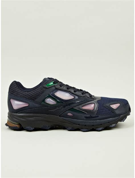 adidas by raf simons response 1 sneakers in blue for multicolour lyst