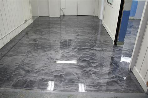 epoxy kitchen floor seattle surfaces designer metallic epoxies