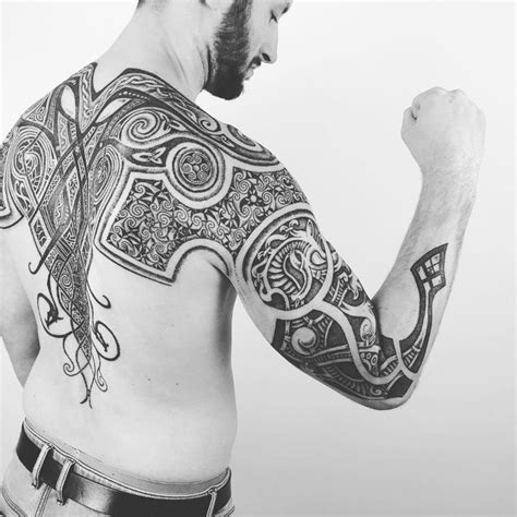 nordic tribal tattoos 25 viking designs ideas design trends premium