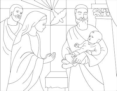 coloring pages baby jesus in the temple nicole s free coloring pages february 2007