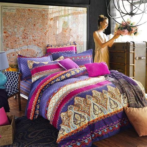 hot pink and purple bedroom hot pink purple and rust orange chevron stripe and paisley