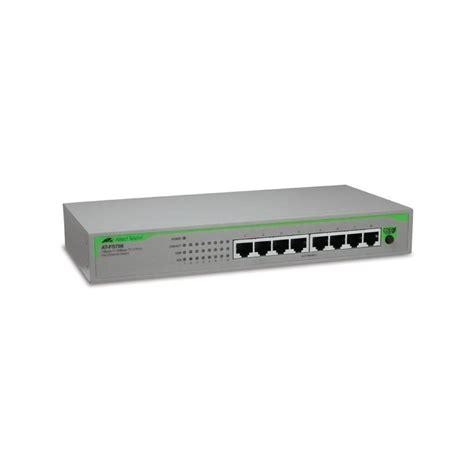 Switch Hub Allied Telesis 8 Port jual harga allied telesis desktop switch 8 port 10 100