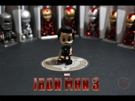 toy review hot toys cosbaby iron man series youtube
