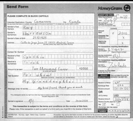 moneygram receipt template moneygram payment receipt puppyscam