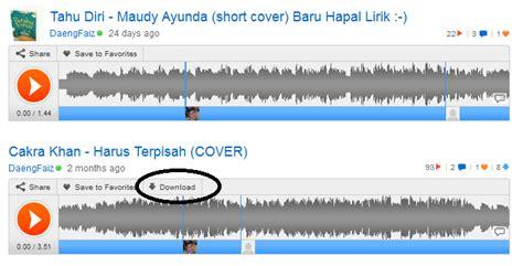 download mp3 di soundcloud arsia3000 cara download lagu atau mp3 dari situs